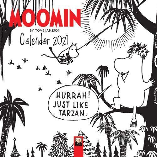 9781839640865: Moomin by Tove Jansson Mini Wall calendar 2021 (Art Calendar) (Mini Calendar)