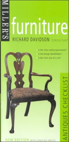 Miller's: Furniture: Antiques Checklist (Miller's Antiques Checklists): Richard Davidson