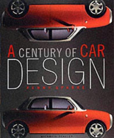 9781840004038: A Century of Car Design