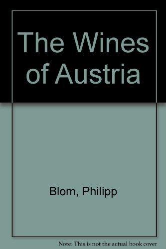 9781840007992: The Wines of Austria