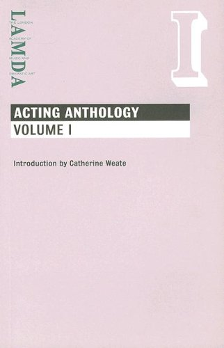 9781840023985: Lamda Acting Anthology: Vol I
