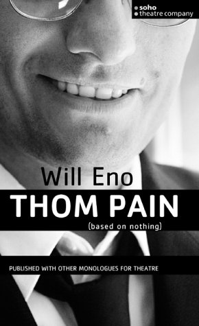 9781840024524: Thom Pain (based on nothing) (Oberon Modern Plays)