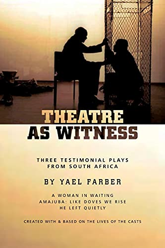 9781840028201: Theatre as Witness (Oberon Modern Playwrights)