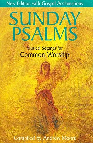 9781840036220: Sunday Psalms: Music Settings for Common Worship