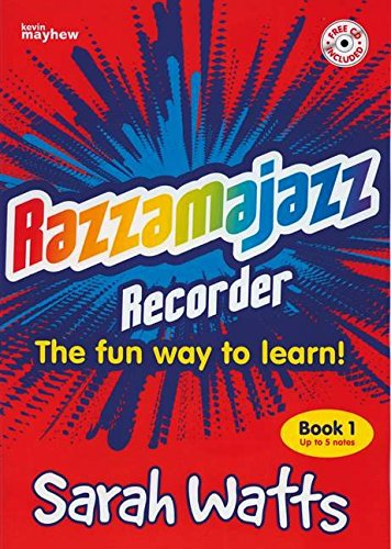 9781840036794: Mel Bay Razzamajazz Recorder: Five Note Fiesta (Bk. 1)
