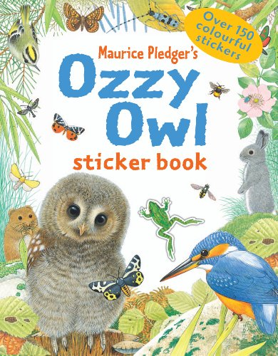 Ozzy Owl's Sticker Book: All About Animals (9781840110432) by Maurice Pledger