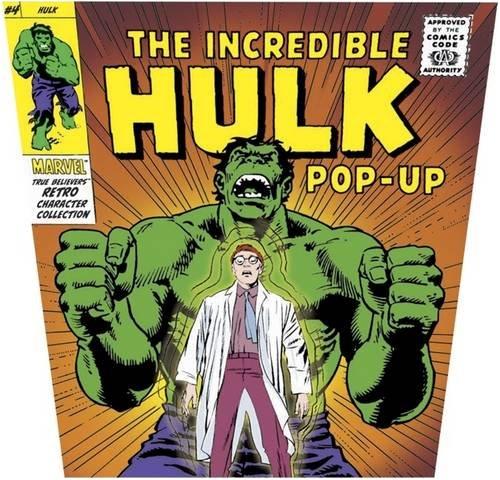 Marvel Pop Ups: The Incredible Hulk