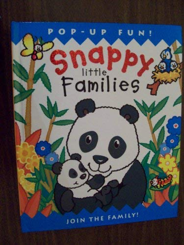 Snappy Little Families (Pop-up Fun) (1840119268) by Dugald Steer