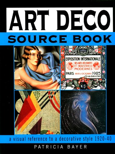 9781840130478: Art Deco source book