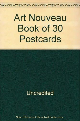 9781840132069: Art Nouveau (Book of 30 Postcards)