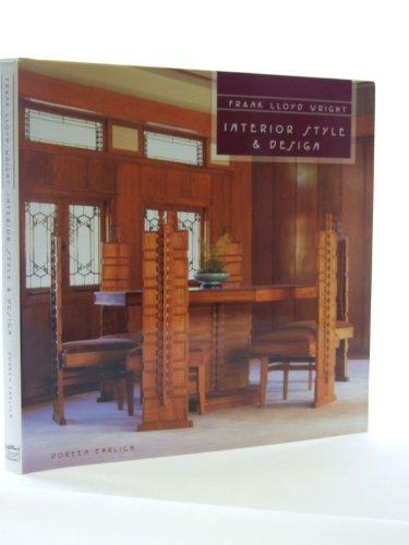 9781840135862: Frank Lloyd Wright Interior Style & Design