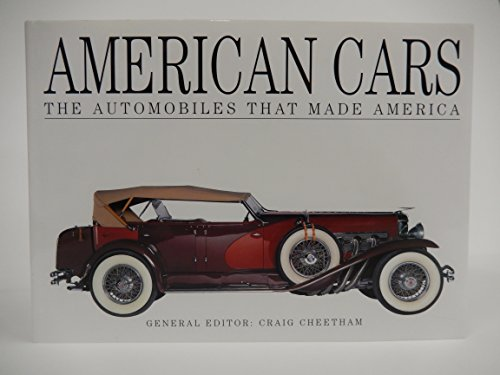 9781840136500: American Cars: The Automobiles That Made America