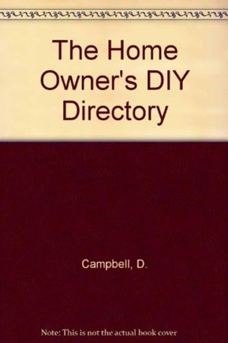 9781840137590: The Home Owner's DIY Directory