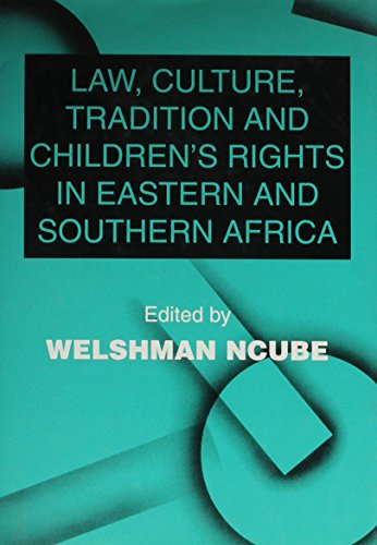 9781840140477: Law, Culture, Tradition and Children's Rights in Eastern and Southern Africa (Issues in Law and Society)
