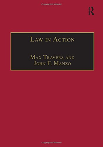 9781840140781: Law in Action: Ethnomethodological and Conversation Analytic Approaches to Law (Socio-Legal Studies)