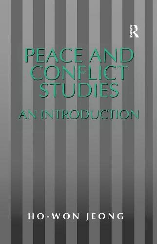 Peace and Conflict Studies: Jeong, Ho-Won