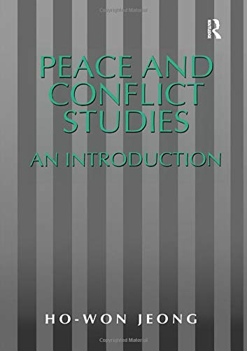 9781840140989: Peace and Conflict Studies: An Introduction (Studies in Peace and Conflict Research)