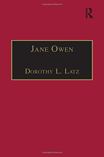Jane Owen(Early Modern Englishwoman: a Facsimile Library of Essential Works), prt.2, vol.9: Jane ...