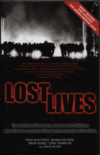 9781840182279: Lost Lives: The Stories of the Men, Women, and Children Who Died As a Result of the Northern Ireland Troubles