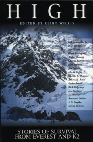 9781840182910: High: Stories of Survival from Everest and K2 (Adrenaline)