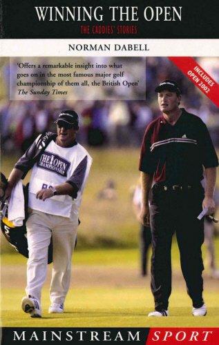 9781840187021: Winning the Open: The Caddies' Stories (Mainstream Sport)
