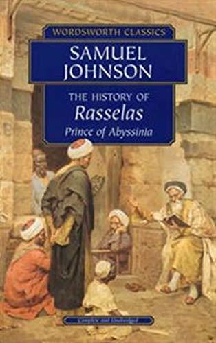 9781840224207: The History of Rasselas: History of Rasselas: Prince of Abyssinia (Wordsworth Classics)