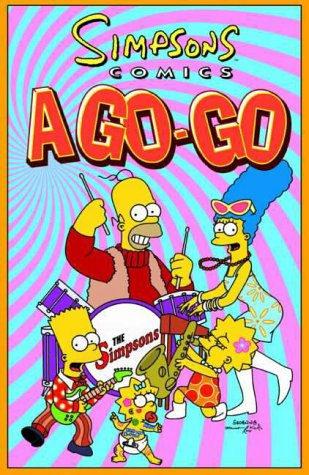 9781840231519: Simpsons Comics A-go-go