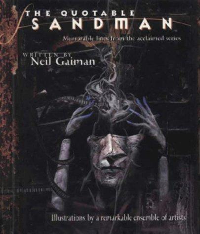 """9781840232714: The Quotable """"Sandman"""""""