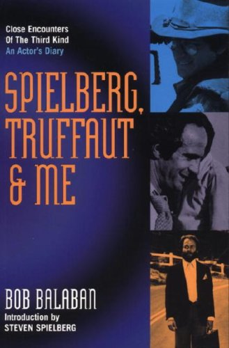 9781840234305: Spielberg, Truffaut and Me: An Actor's Diary