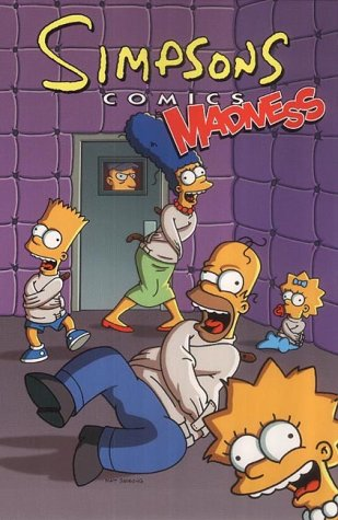 9781840235920: Simpsons Comics Madness