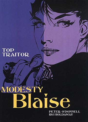 9781840236842: Modesty Blaise: Top Traitor