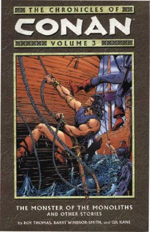 9781840238129: The Chronicles of Conan, Vol. 3: Monster of the Monoliths and Other Stories (v. 3)