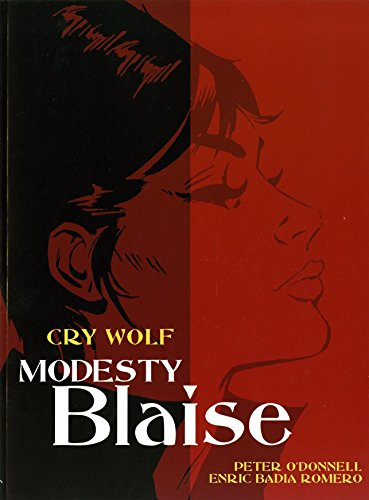 9781840238693: Modesty Blaise: Cry Wolf