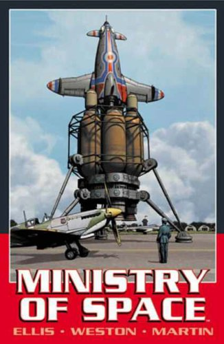 Ministry of Space (1840239247) by Ellis, Warren; Weston, Chris; DePuy, Laura