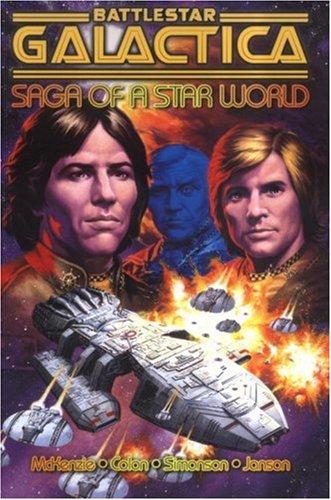 9781840239300: Battlestar Galactica: Saga of a Star World