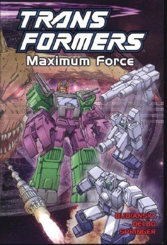 9781840239553: Transformers, Vol. 8: Maximum Force