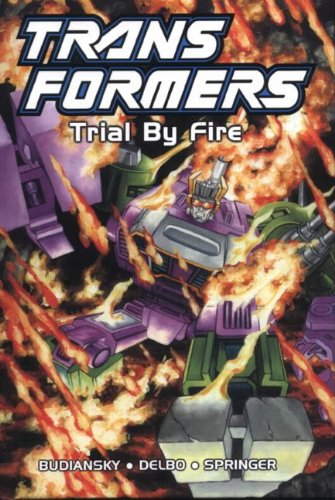 9781840239652: Transformers: Trial by Fire