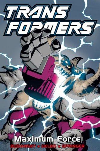 9781840239706: Transformers, Vol. 8: Maximum Force