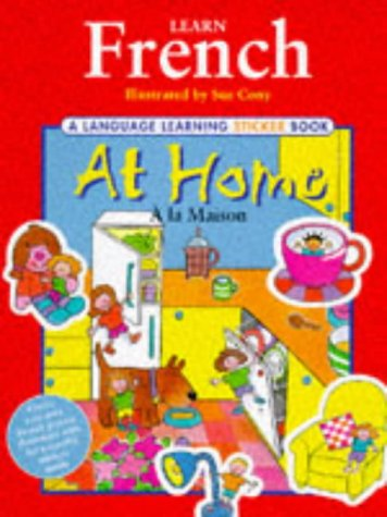 9781840280104: Learn French: At Home (Language Learning Sticker Books)