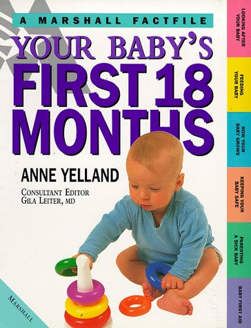 9781840280401: Your Baby's First 18 Months (Marshall Factfile)