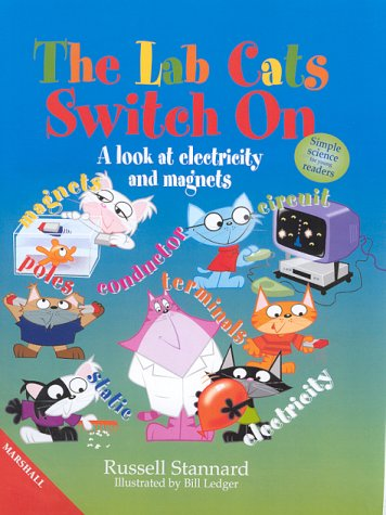 Lab Cats Switch on: Magnets & Electricity (1840285567) by Russell Stannard