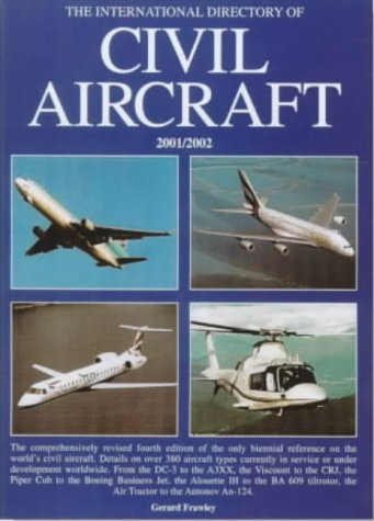 9781840372823: The International Directory of Civil Aircraft 2001/2002