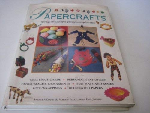 9781840385052: Papercrafts: 100 Fantastic Paper Projects, Step-by-Step