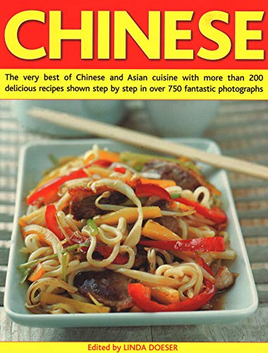9781840385274: Chinese: The Very Best of Chinese and Asian Cuisine with More Than 200 Delicious Recipes Shown Step by Step in Over 750 Fantastic Photographs