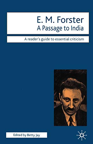 9781840460278: A Passage to India: A Reader's Guide to Essential Criticism