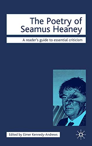 9781840461374: The Poetry of Seamus Heaney (Icon Reader's Guides to Essential Criticism)