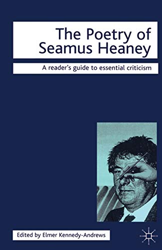 9781840461374: The Poetry of Seamus Heaney (Readers' Guides to Essential Criticism)
