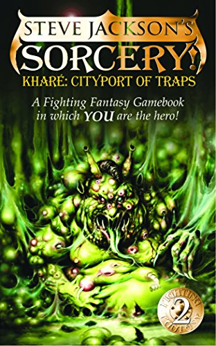 Khare Cityport of Traps (Fighting Fantasy, No.: Steve Jackson