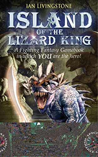 Island of the Lizard King (Fighting Fantasy S.)