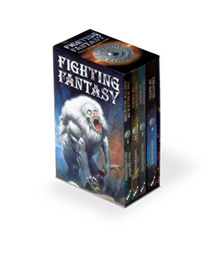Fighting Fantasy Box Set: (Warlock of Firetop Mountain, Citadel of Chaos, Deathtrap Dungeon, ...